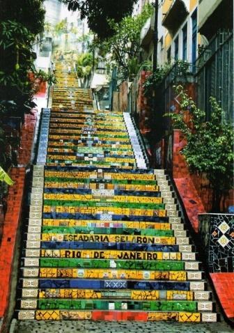 escadaria selaron rio brazil