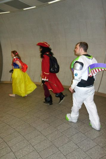 snow white captain hook buzzlightyear