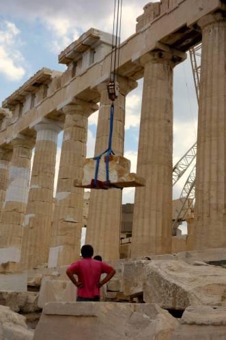 building work acropolis