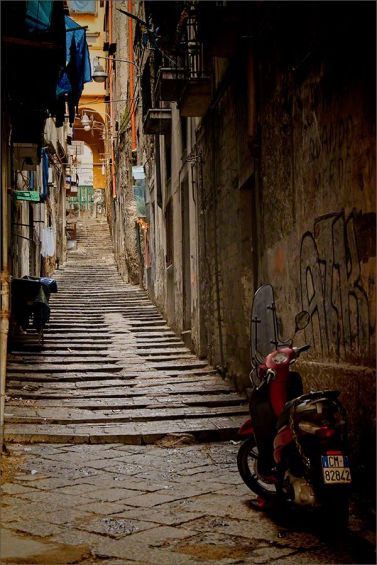 Back streets of Naples