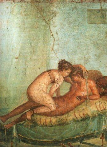 Pompeii frescos