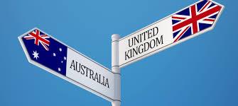 australia vs britain