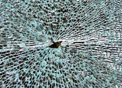 shattered glass