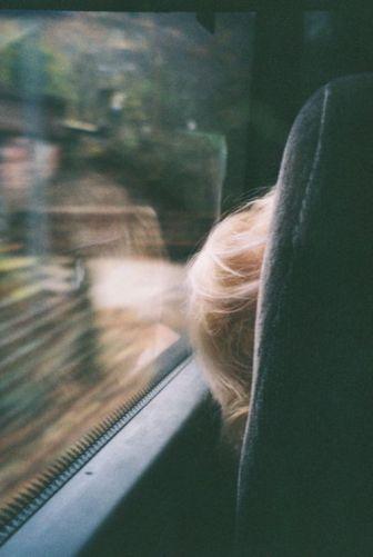 blonde car
